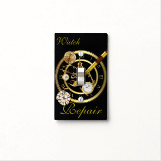 Watch Repair Light Switch Cover
