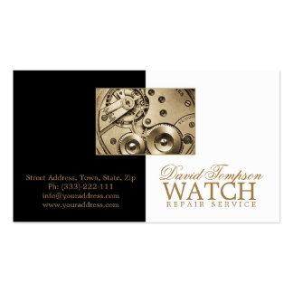 Watch Repair Service Watchmaker Black & White Card