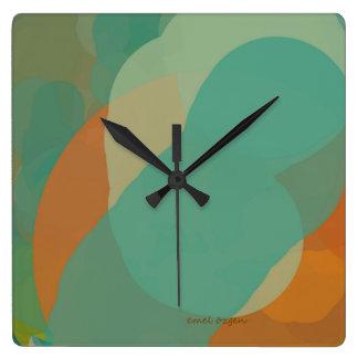 watch square square wall clocks