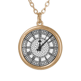Watch Style Necklace