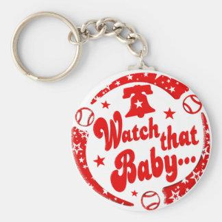 Watch that Baby! Keychain