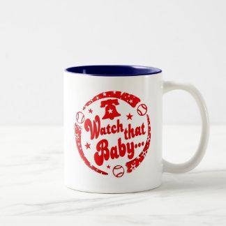 Watch that Baby! Two-Tone Coffee Mug