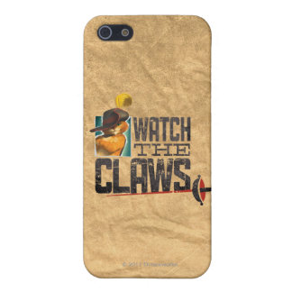 Watch The Claws Case For iPhone SE/5/5s