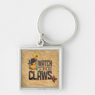 Watch The Claws Keychain