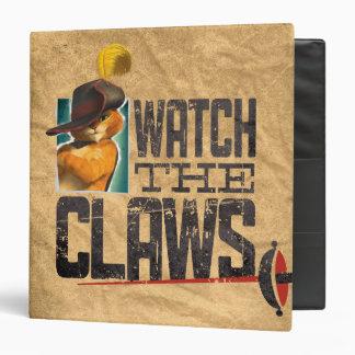 Watch The Claws Vinyl Binders