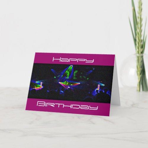 Watch The DJ Spin birthday card