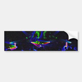 Watch The DJ Spin bumper sticker