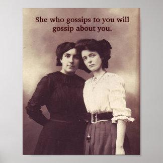 Watch the Gossip! Poster