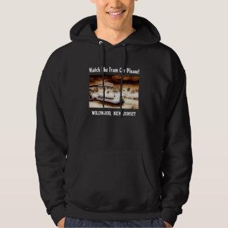 Watch The Tram Car Please Hooded Sweatshirt