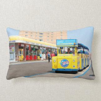 Watch The Tram Car Please Lumbar Pillow