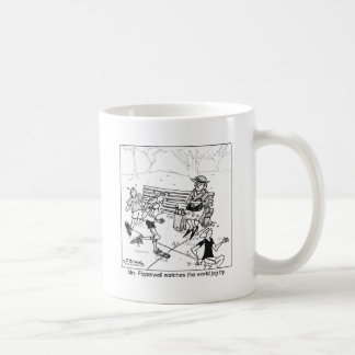 Watch the World Jog By Coffee Mug