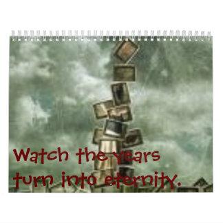 Watch the years turn into calendar