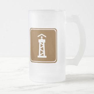 Watch Tower Highway Sign Coffee Mugs