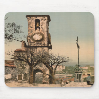 Watch Tower on Mont Chevalier, France Mousepads