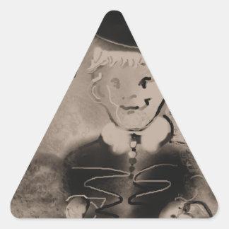 watch triangle sticker
