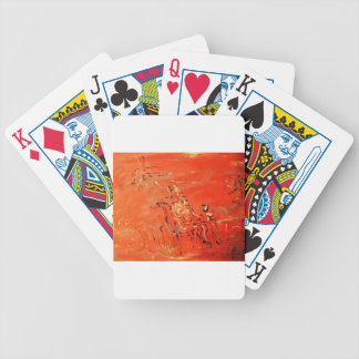 watch TV Bicycle Playing Cards
