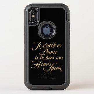 Watch Us Dance OtterBox Defender iPhone X Case