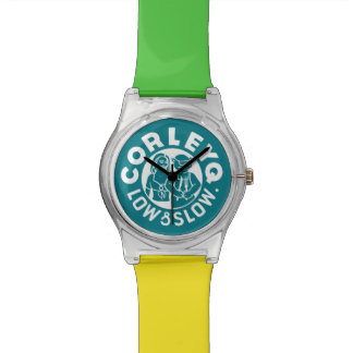 Watch w/ green logo and Mix 'n' Match color band