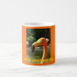 Watch where you drip coffee mug