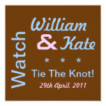 Watch William and Kate Tie The Knot Invitation