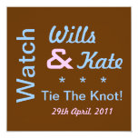 Watch Wills and Kate Tie The Knot Invitation