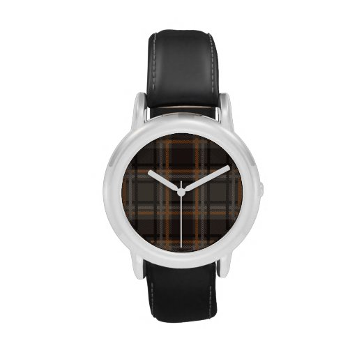 watch with a brown background