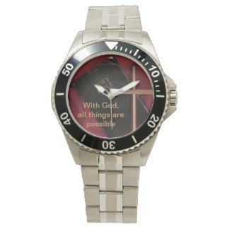 Watch with a reminder that all things are possible
