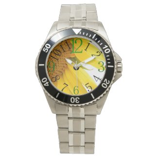 Watch with Sunflower