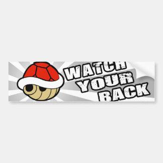 Watch your back! bumper sticker