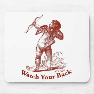Watch Your Back Mouse Pad