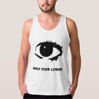"""""""Watch Your Corner"""" Sleeveless shirt"""