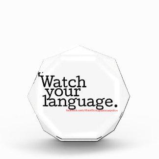 Watch Your Language 2 Award