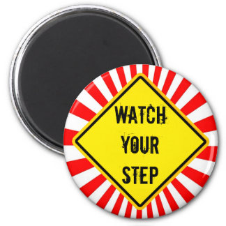 watch your step magnets