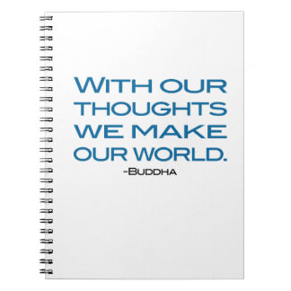 Watch Your Thoughts (be the Buddha) Note Book