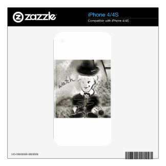 watchb&w skins for the iPhone 4S
