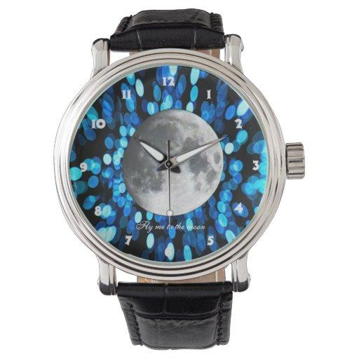 Watche de la luna relojes de mano