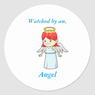 Watched by an Angel Cute Stickers