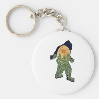 Watcher in the Woods Keychain