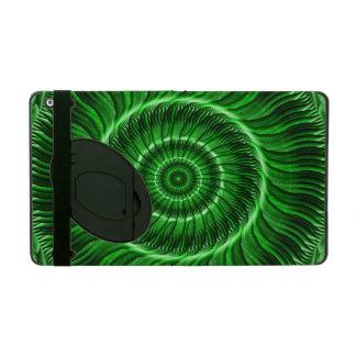 Watcher of the Green Mandala iPad Case