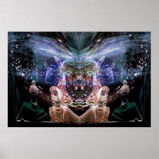 Watchers/Twins Print