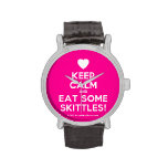 [Love heart] keep calm and eat some skittles!  Watches