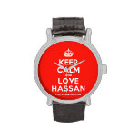 [Crown] keep calm and love hassan  Watches