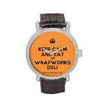 [Crown] keep calm and eat at wrapworks deli  Watches