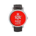[Crown] keep calm and make lovr  Watches