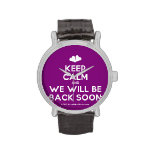 [Two hearts] keep calm and we will be back soon  Watches