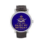 [Crown] keep calm y'all will enjoy my birthday  Watches