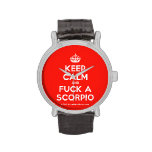 [Crown] keep calm and fuck a scorpio  Watches