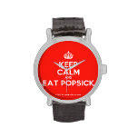 [Crown] keep calm and eat popsick  Watches