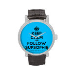 [Crown] keep calm and follow supsophie  Watches