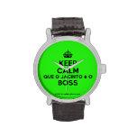[Crown] keep calm que o jacinto é o boss  Watches